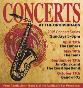 2015 Concert Flyer